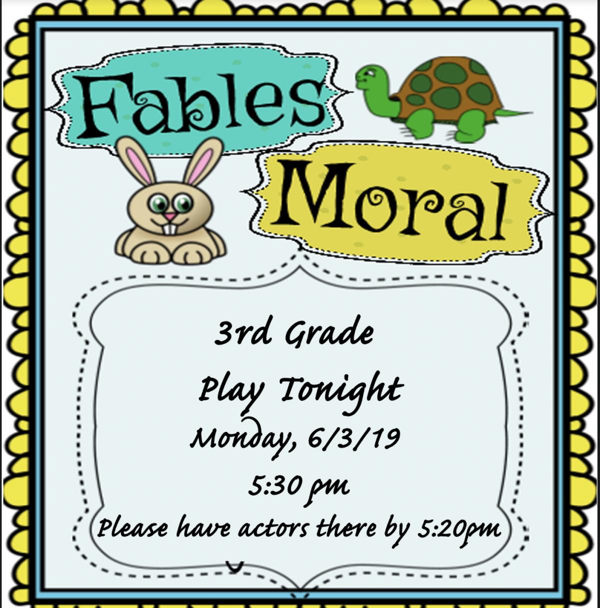 2nd/3rd Grade Play